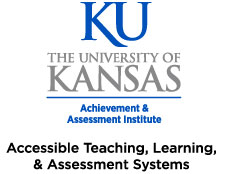 KU,The Achievement & Assessment Institute, The University of Kansas